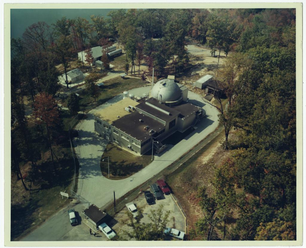 old reactor at Fort Belvoir in Virginia