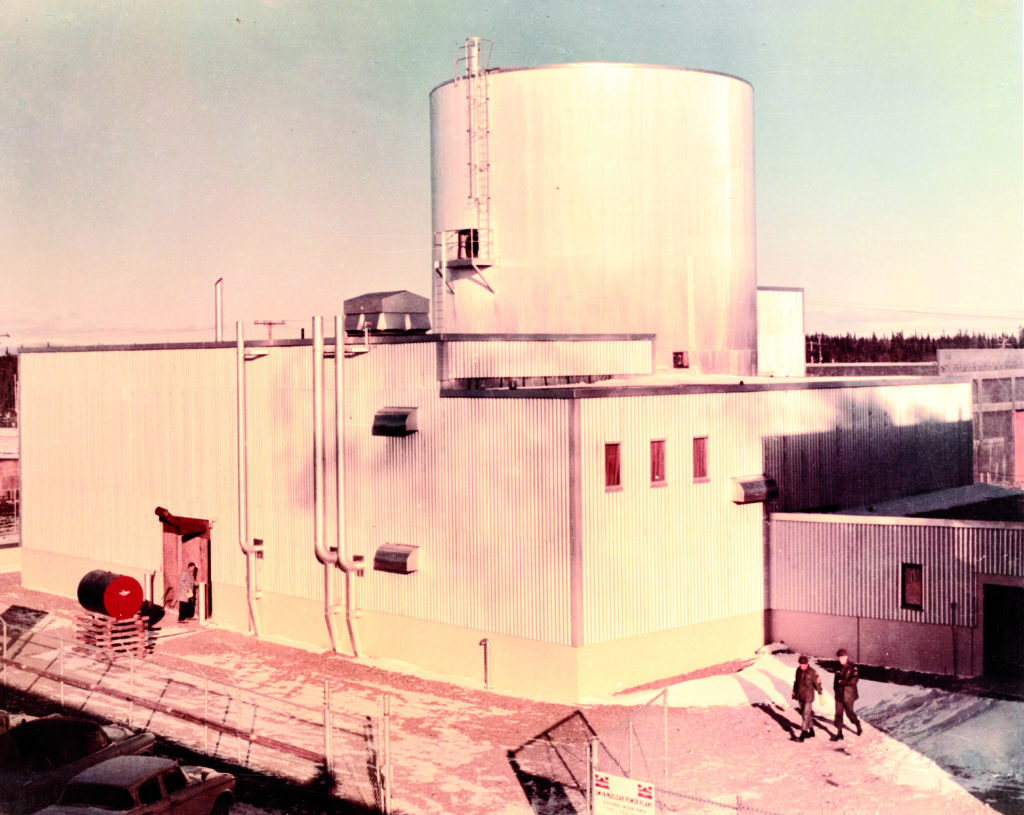 decommissioned reactor at Fort Greely in Alaska