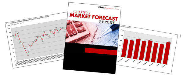 red and black report cover with graph and chart
