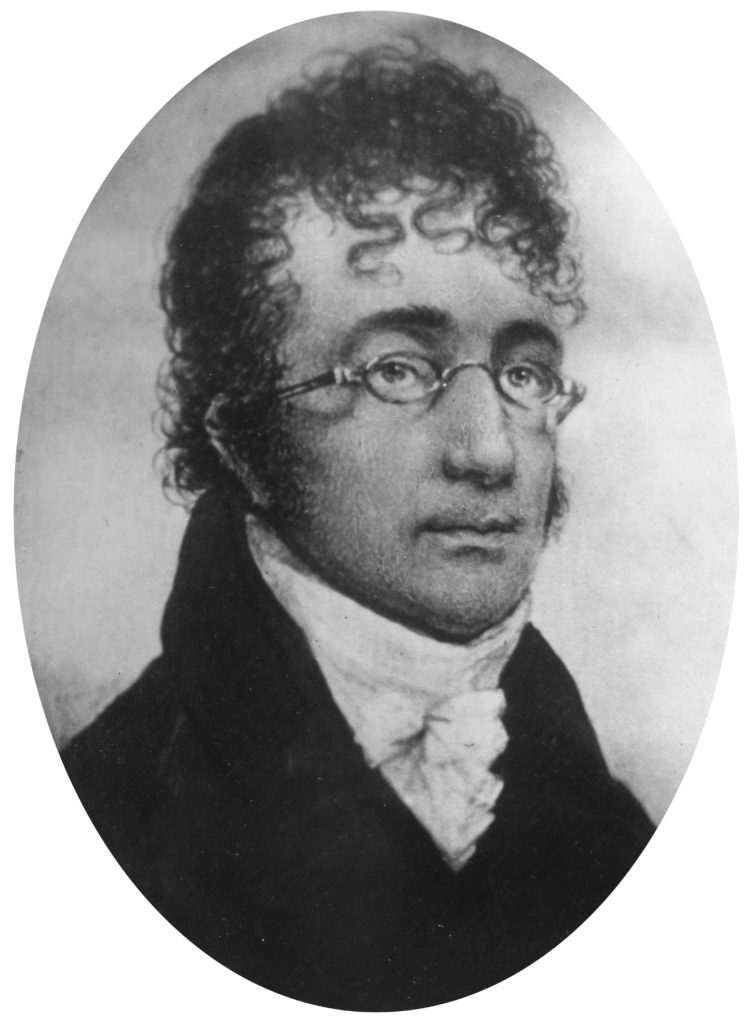 black and white photo of Benjamin Henry Latrobe