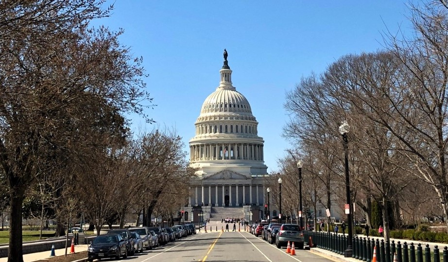 photograph of the US Capitol