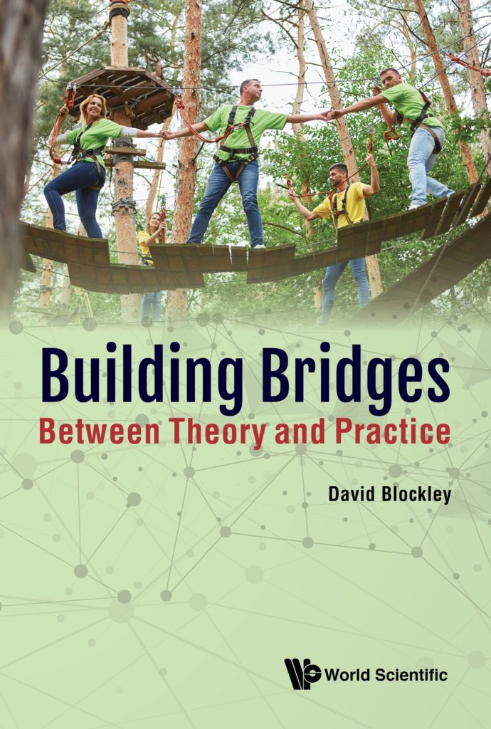 green book cover showing two people crossing a small bridge